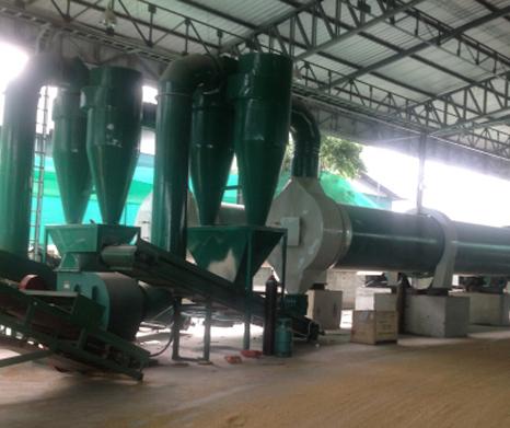 泰国XGJ850稻壳颗粒机生产线案例